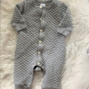 Quilted romper